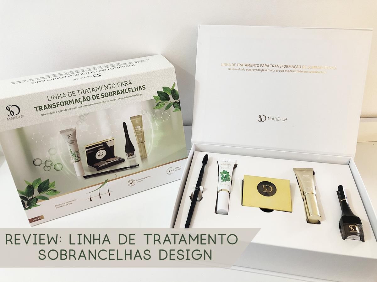 Kit de Tratamento Sobrancelha Design